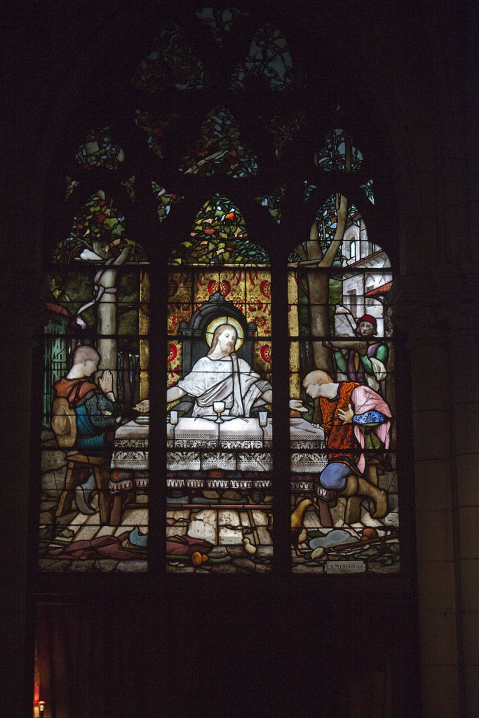 La Cène d'Emmaüs, Luc-Olivier Merson (1846–1920), Collection Sainte-Eugénie, Biarritz.