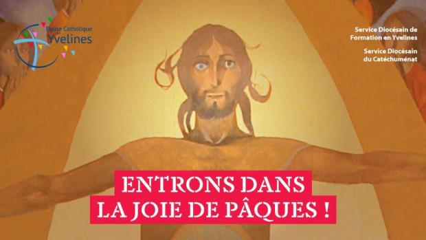 Vivre le Temps pascal à la maison, un parcours proposé par le diocèse de Versailles, pendant le confinement.