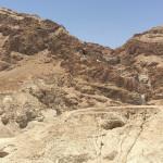 Chemin à proximité de Jérusalem.