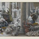 Les Vendeurs chassés du Temple, de James Tissot.
