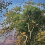 Adam et Eve au paradis terrestre, Wenzel Peter.