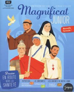 Magnificat Junior, le numéro d'octobre-novembre 2020.