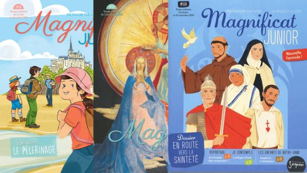 Magnificat Junior, magazine bimestirel des 7-12 ans.
