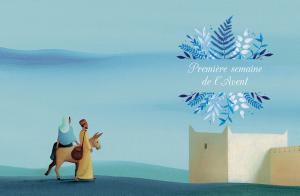 Mon compagnon vers Noël, illustré par Eric Puybaret, Magnificat, 2019.