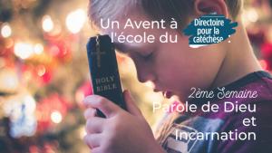« Le Seigneur nous appelle à un changement radical pour retrouver la confiance, la joie et la simplicité d'un enfant afin de l'accueillir, d'accueillir sa Parole. »