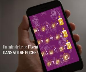 L'appli Eglise catholique en France aux couleurs de l'Avent : le calendrier 2020.
