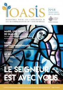 Couverture de L'Oasis n°18 : Le Seigneur est avec vous, paru en décembre 2020.