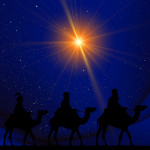 « Or, voici que des mages venus d'Orient arrivèrent à Jérusalem et demandèrent : « Où est le roi des Juifs qui vient de naître ? Nous avons vu son étoile à l'orient et nous sommes venus nous prosterner devant lui. » Mt 2, 1b-2
