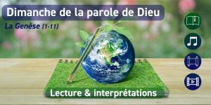 Une lecture des premiers chapitres de la Genèse pour la première édition du Dimanche de la Parole de Dieu au Collège des Bernardins !