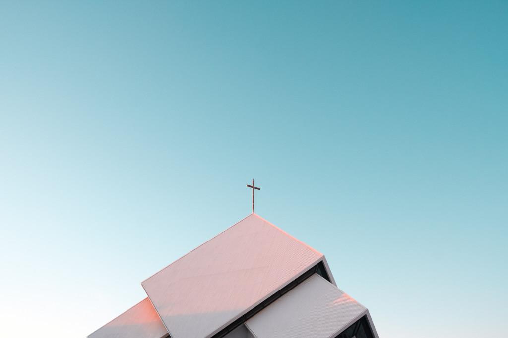 Toit d'une église.
