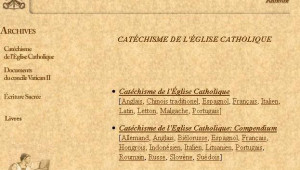 Catechisme eglise catholique vatican