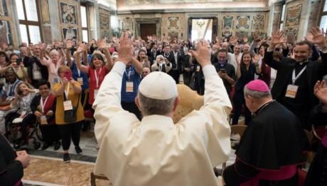 pape à Rome congrès handicap