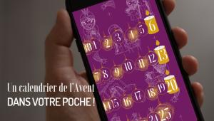 L'appli Eglise catholique en France aux couleurs du temps de l'Avent (violet) : le calendrier 2020.